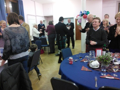 2016 piping the haggis