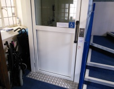 Lift and Wheelchair