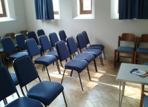 Session Room Theatre style 1